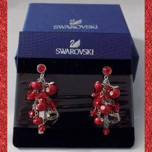 Swarovski HELLO KITTY Bead Crystal Charm Earrings
